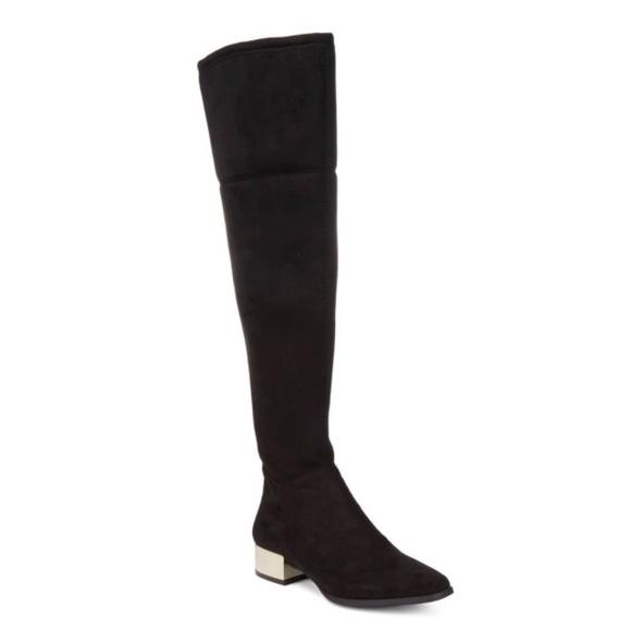 3862dac804a NWT Anne Klein Kimmie Over-the-Knee Boot